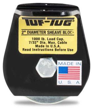 "Flat — SB1000FM | 2"" Dia. Sheave Blocks 1000 lb. capacity 7/32"" maximum cable size"