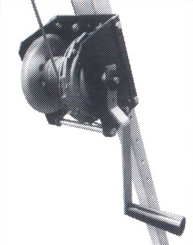 MAN RATED HAND WINCH 12:1 Gear Ratio with Automatic Internal Load Lock | Model 1TMW300 | Tuf-Tug Products