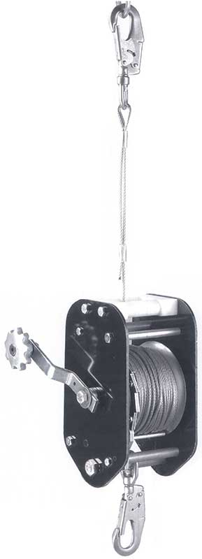 RESCUE/POSITIONING LOWERING WINCH | TTRPLW-200C | Tuf-Tug products