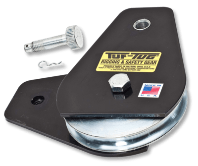 Tuf-Tug Products | DROP SIDE SNATCH BLOCKS and Rigging Gear