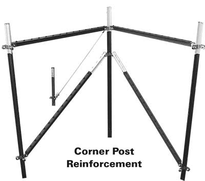 FENCE INSTALLATION ACCESSORIES | Corner Post Reinforcement | Tuf-Tug Products