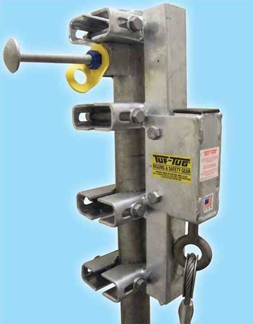 Wire Grab Fall Arrestor Model TT WG 500 | Tuf-Tug Products