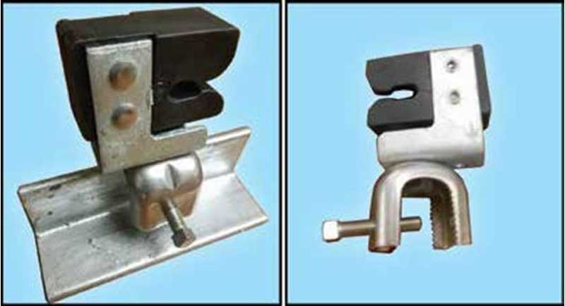 Angle Clip/Stand Off Assembly | Obstruction Avoidance Components | Safe Climb System | Tuf-Tug Products