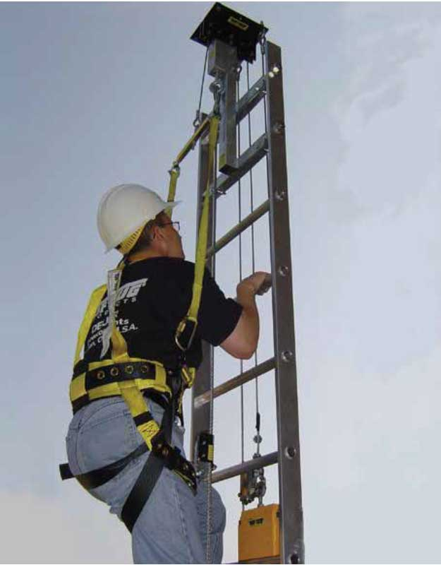 Cable Safe-Climb & Climb Assist Combo | TUF-TUG Products | Fall Protection Equipment