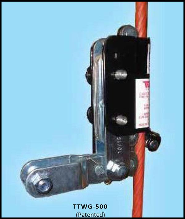 Wire Grab Fall Arrestor Model TT WG 500   Extreme Environmental Safe-Climb System   Tuf-Tug Products