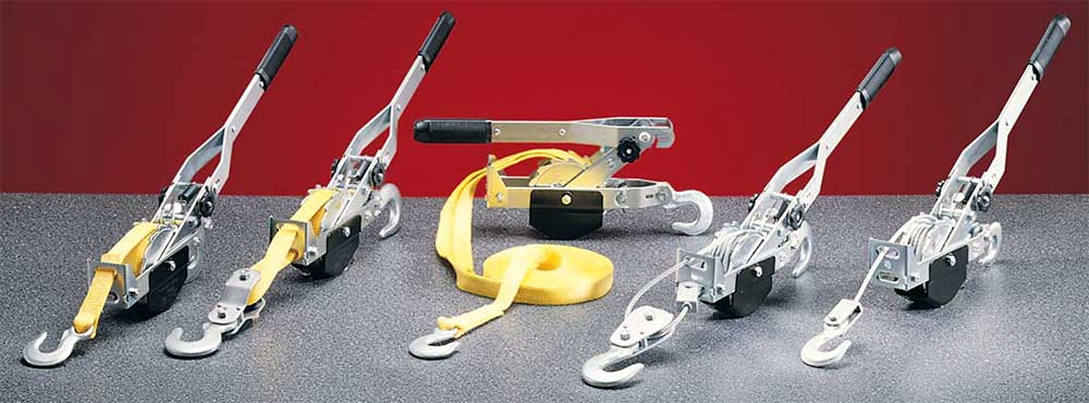 Tote Tugger    A Compact Come-A-Long in a Carrying Case   Hoist Puller   Tuf-Tug Products