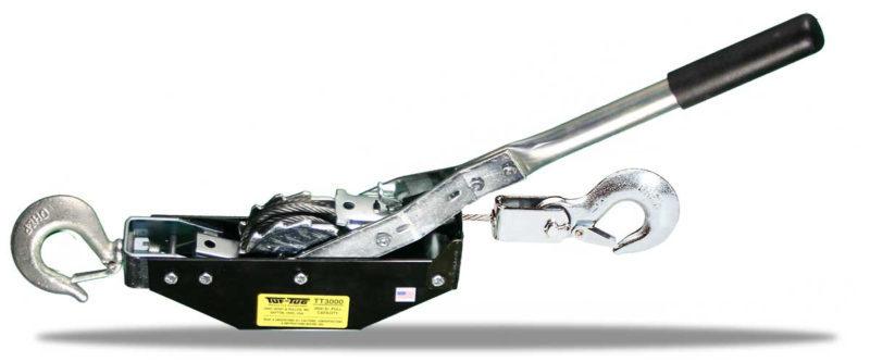 TUF-TUG HOIST PULLER   Cable Hoist Puller   Medium Frame Pullers   TT2000-12C   Tuf-Tug Products