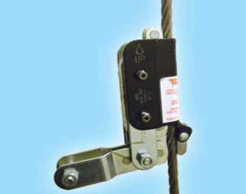 Fall Protection Safety Wire Grab Fall Arrestor | Tuf-Tug Products