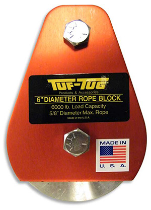 "Plain — ALSB3000P | 4"" Dia. Sheave Blocks 3000 lb. capacity 5/8"" diameter maximum rope 
