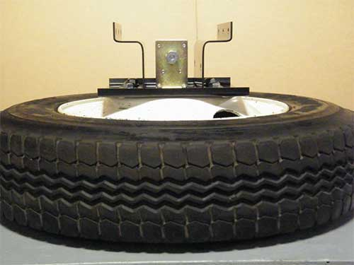 Spare Tire Stowage System    Tuf-Tug Products