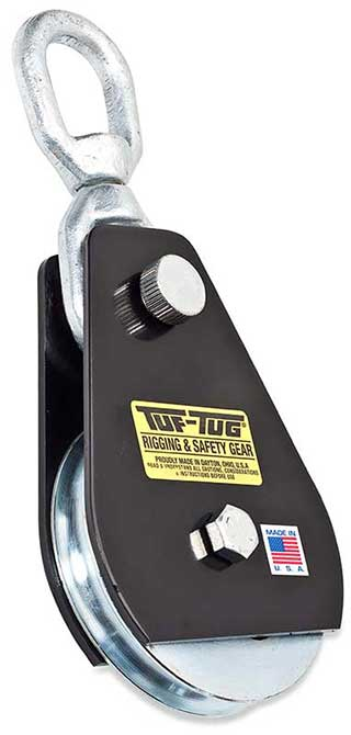 "Eye — TTSNB-2000SE | Drop Side Snatch Blocks 2000 lb. Capacity 1/2"" Maximum Cable Size 