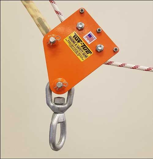 Safe Climb System   Ladder Mount System Model TTCSCS   Tuf-Tug Products