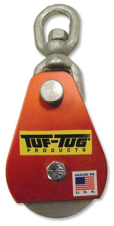 "3"" Dia. Aluminum Drop Side Snatch Blocks | Eye — ALSNB-2000SE | TUF-TUG products"