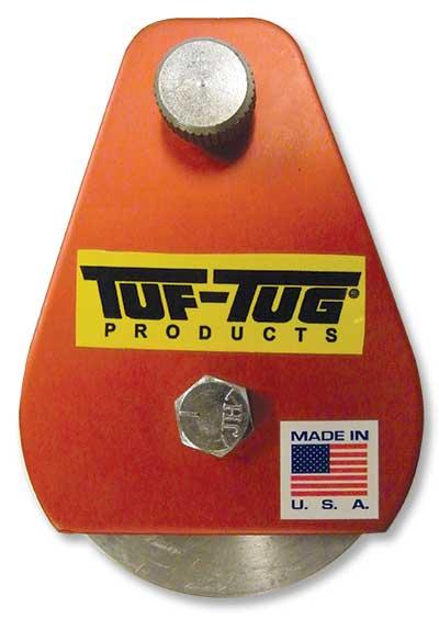 "3"" Dia. Aluminum Drop Side Snatch Blocks | Plain — ALSNB-2000P | TUF-TUG Products"