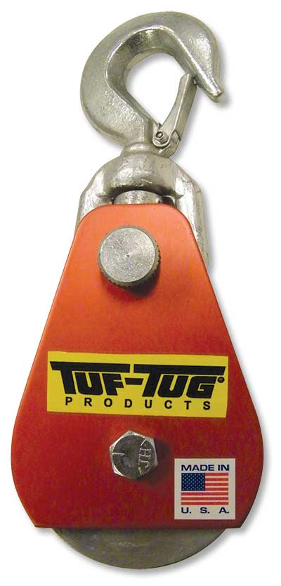 """3"""" Dia. Aluminum Drop Side Snatch Blocks 