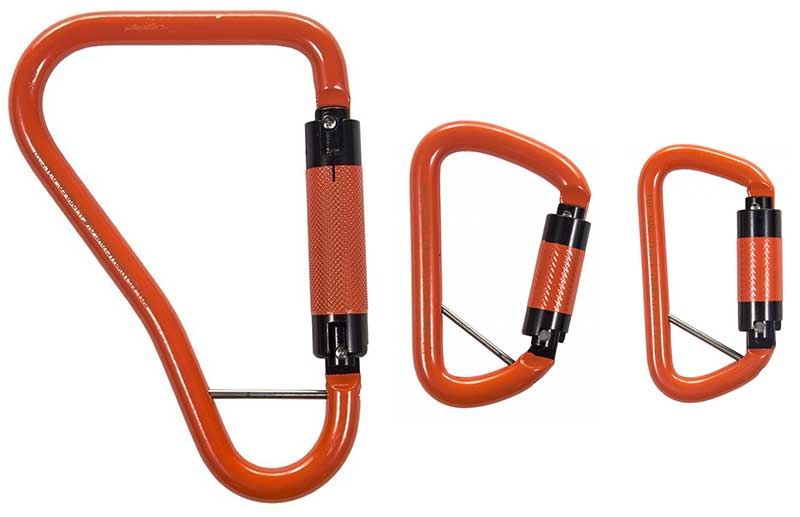 Material Handling Carabiner / Quick Connector Link Model # TTMHC-1000 & 1500 | Tuf-Tug Products
